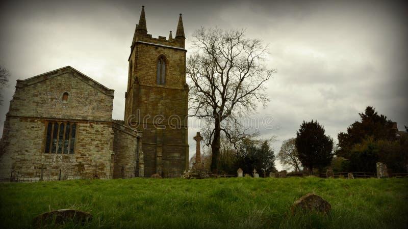Canons Ashby Church stock photos