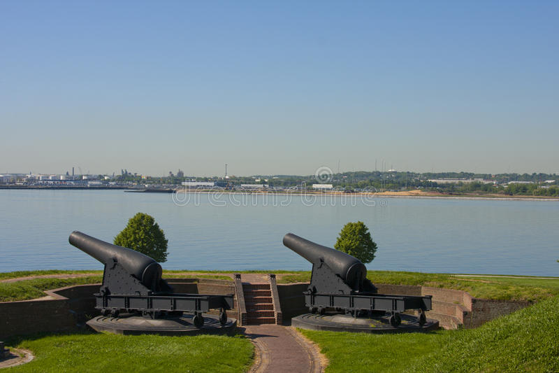 Download Canons at Fort McHenry stock image. Image of baltimore - 16947141