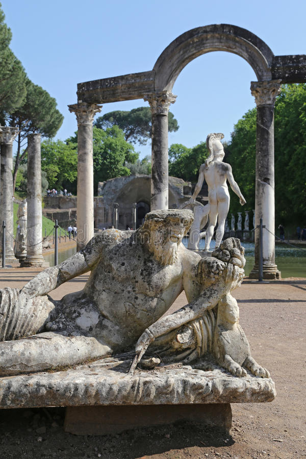 Download Canopus of the Hadrian editorial stock photo. Image of attraction - 40938253