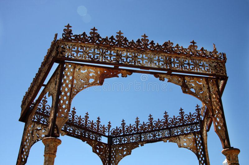 Download Canopy stock image. Image of metal, rusted, details, rust - 6031085