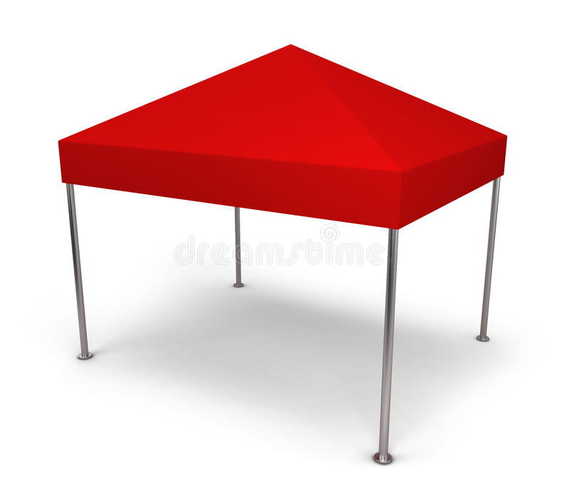 Canopy tent royalty free illustration