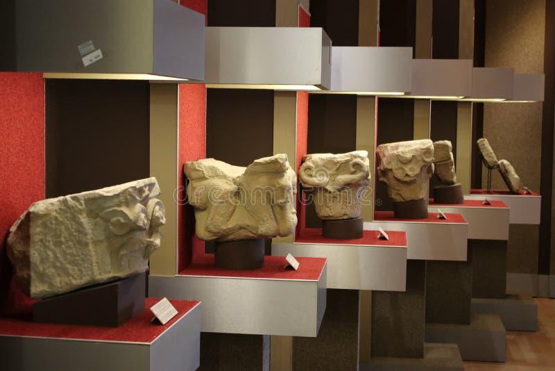 Canossa, Italia, Matilde del museo de Canossa, lugar turístico en Reggio Emilia foto de archivo
