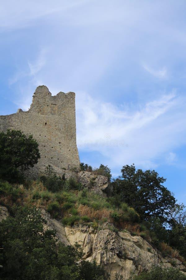 Canossa, Italie, Matilde du musée de Canossa, endroit touristique en Reggio Emilia photos stock