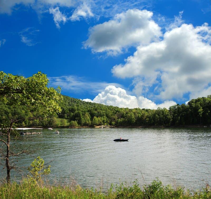 Canotage Au Kentucky Image libre de droits