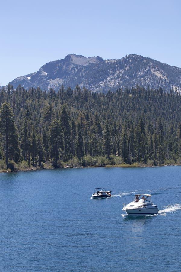 Canotage de Tahoe photo libre de droits