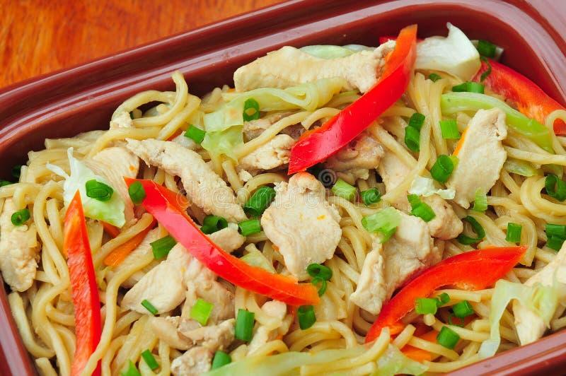 Cantão de Pancit (agitação Fried Noodles) fotos de stock