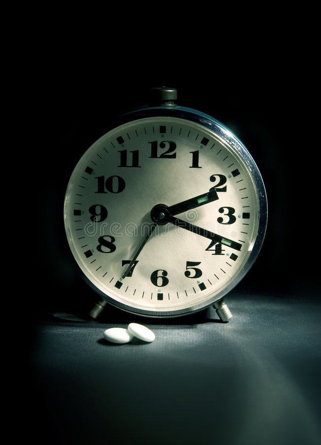 Download Cant asleep? stock photo. Image of object, pills, night - 7507776