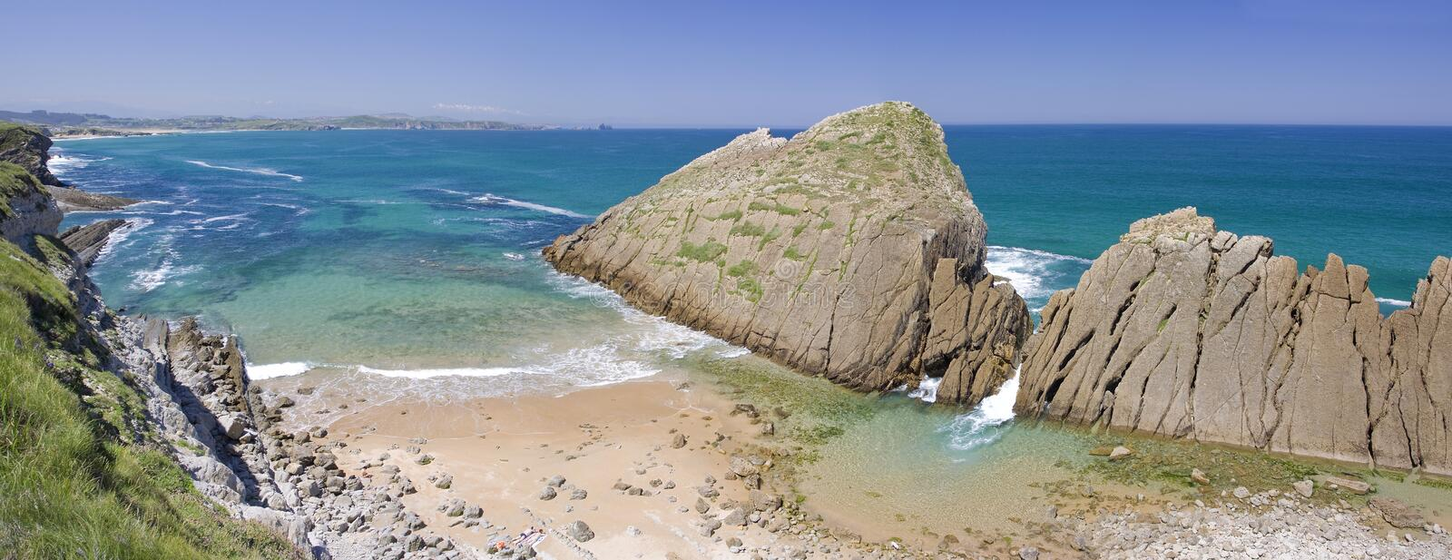 Download Cantabria coastline stock photo. Image of wild, coastline - 10046332