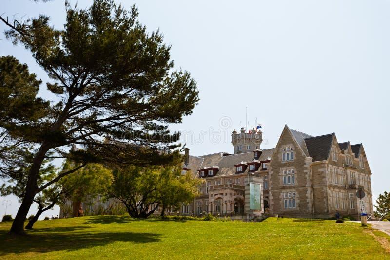 cantabria magdalena slott santander royaltyfri foto