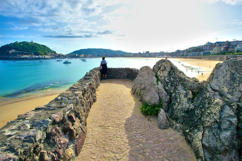 Cantabrian Basque Country royalty free stock images