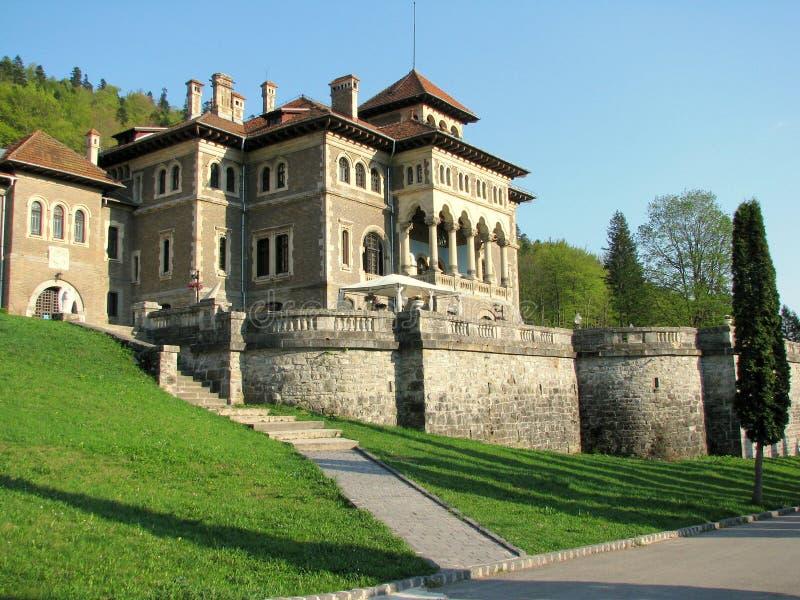 Cantacuzino城堡 免版税库存照片