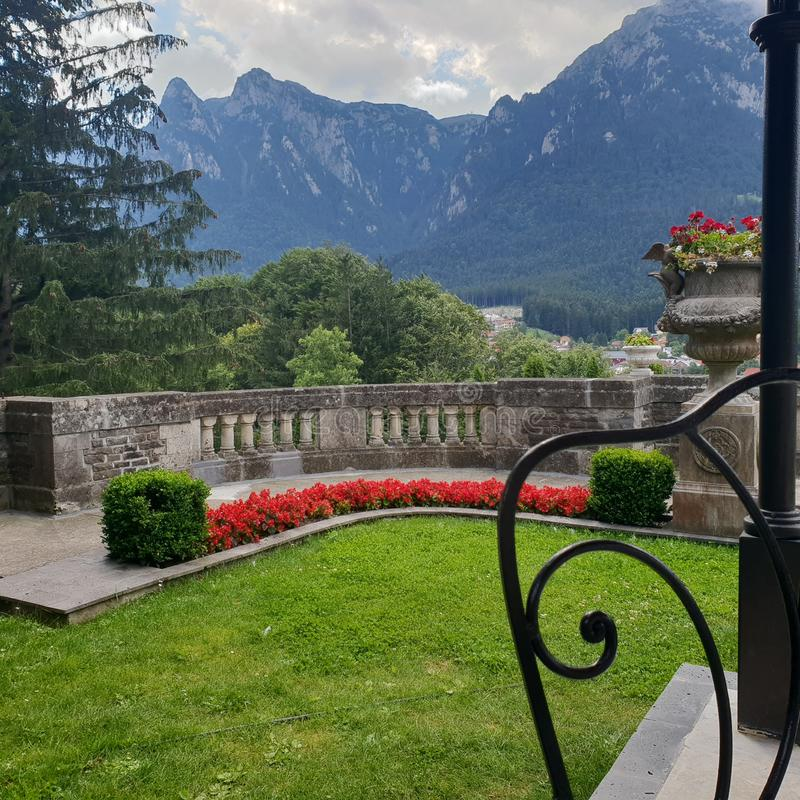 Cantacuzino castle royalty free stock photography