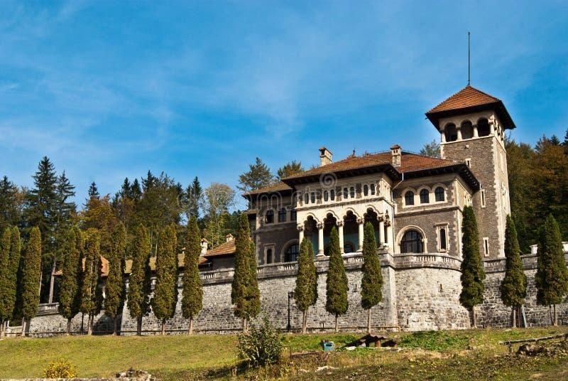 Cantacuzino castle stock images