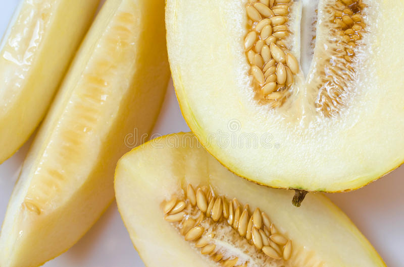 Cantaloup de melon photographie stock libre de droits