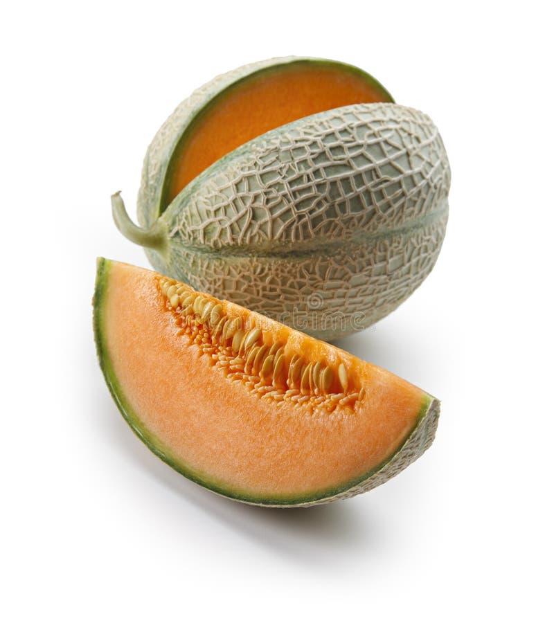 Cantaloup orange de melon photos libres de droits