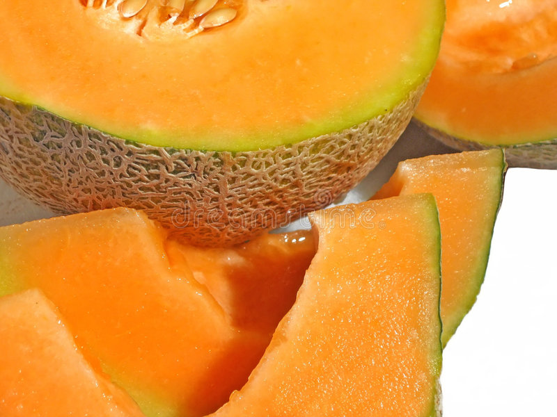 Download Cantaloupe stock photo. Image of nutritious, fleshy, ripe - 106246