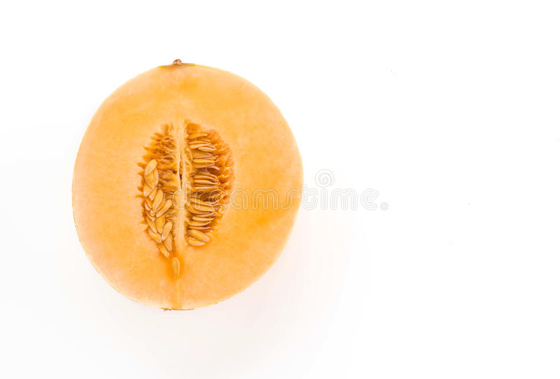 Cantaloupe fresco foto de stock royalty free