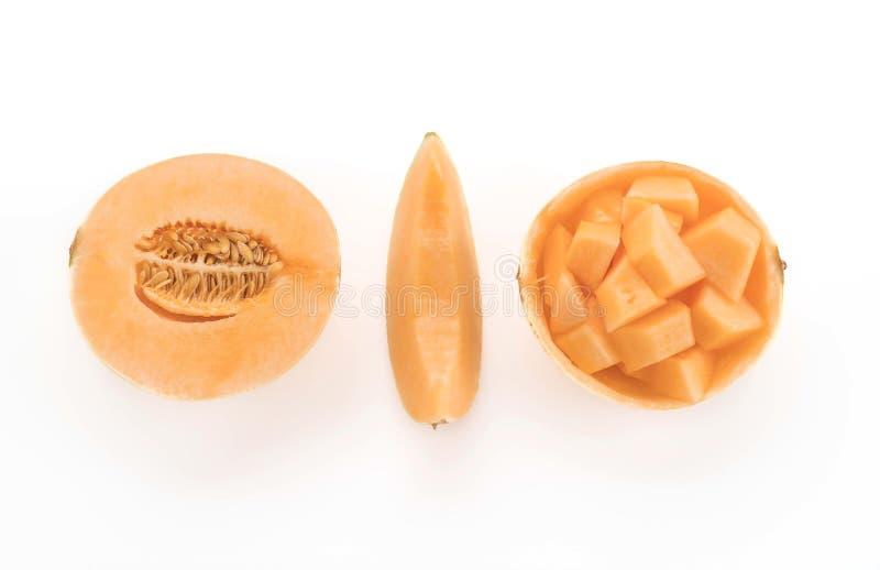 Cantaloupe fresco imagens de stock royalty free