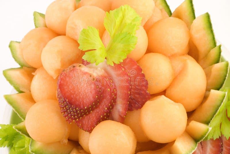 Download Cantaloupe Melon Balls stock image. Image of appetizing - 8403947