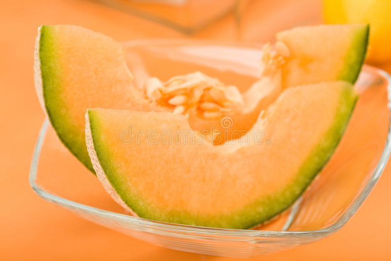 Download Cantaloupe Melon Wedges stock photo. Image of wedge, lemon - 8795410
