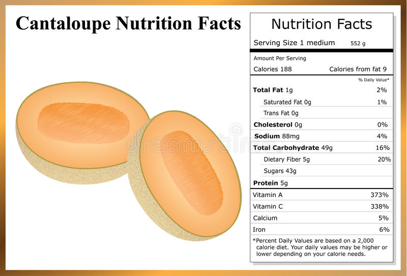Cantaloupe Nutrition Facts Stock Illustrations 5 Cantaloupe Nutrition Facts Stock Illustrations Vectors Clipart Dreamstime Cantaloupe doesn't burn fat, but it can help you get leaner by reducing your energy. cantaloupe nutrition facts stock