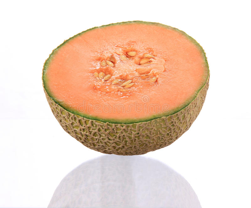 Download Cantaloupemelonorange arkivfoto. Bild av vitamin, efterrätt - 19790894