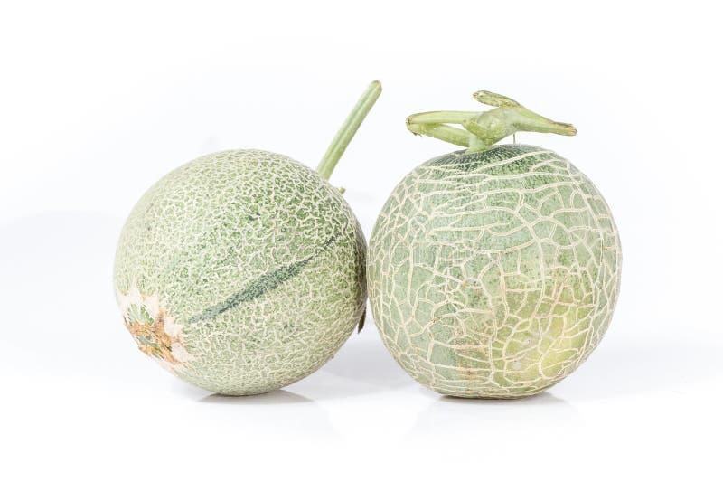 Cantaloupmelon (Muskmelon) royaltyfria bilder
