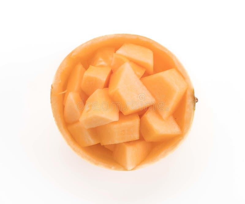 Cantalupo fresco immagine stock libera da diritti