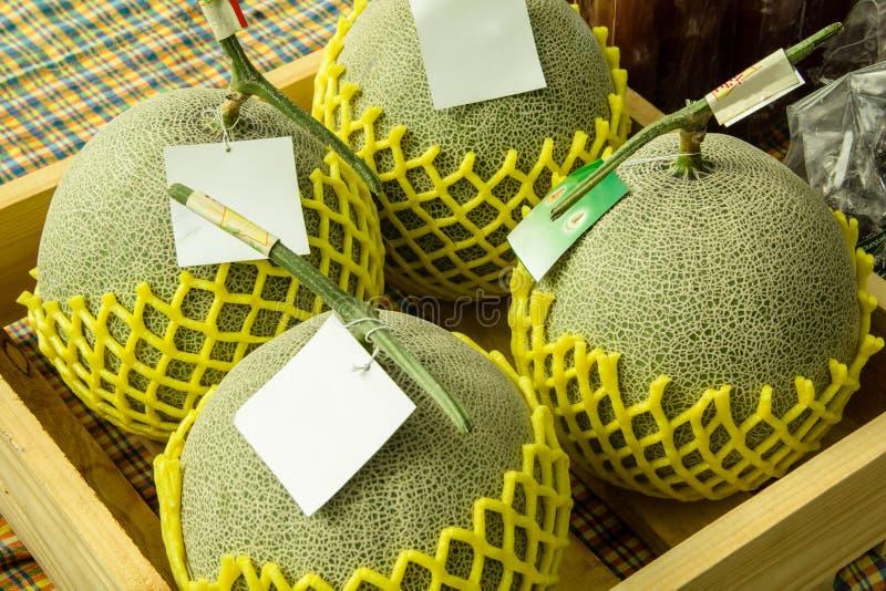 Cantalupo fresco fotografía de archivo libre de regalías
