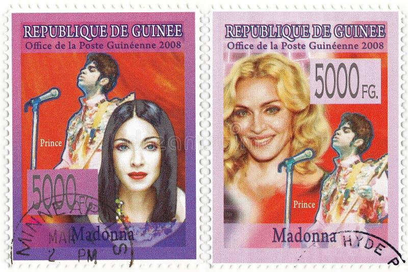 Cantante americano famoso Madonna fotografia stock