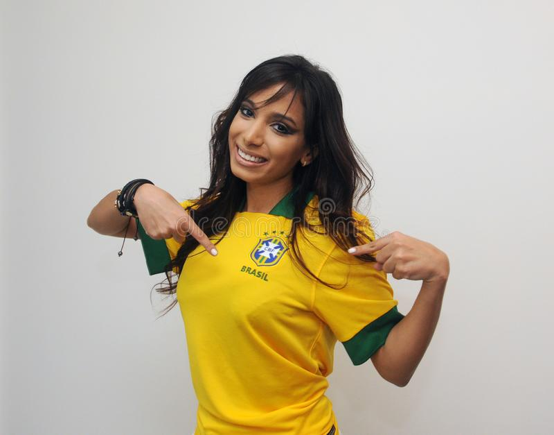 Cantante brasileño de Anitta fotografía de archivo