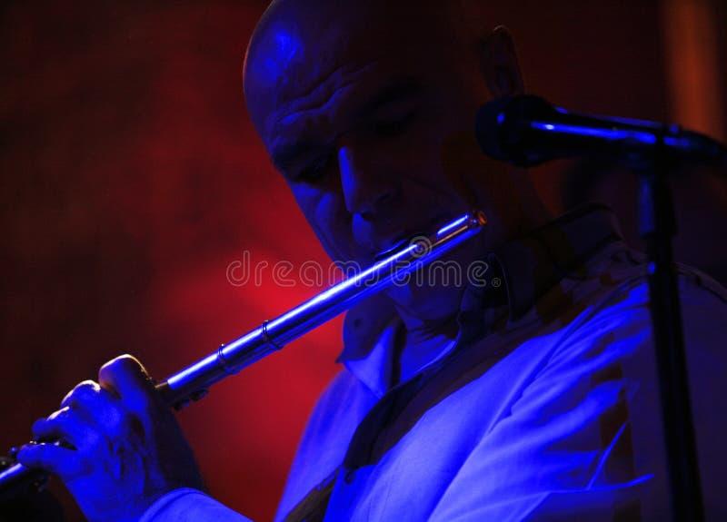 Cantante e musicista russi Sergey Mazaev fotografie stock