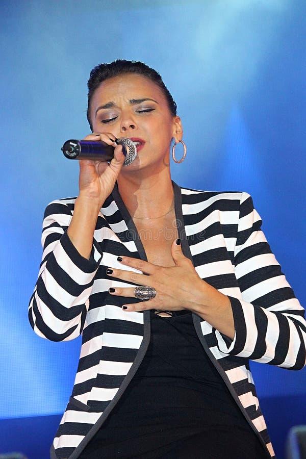cantante español Chenoa foto de archivo