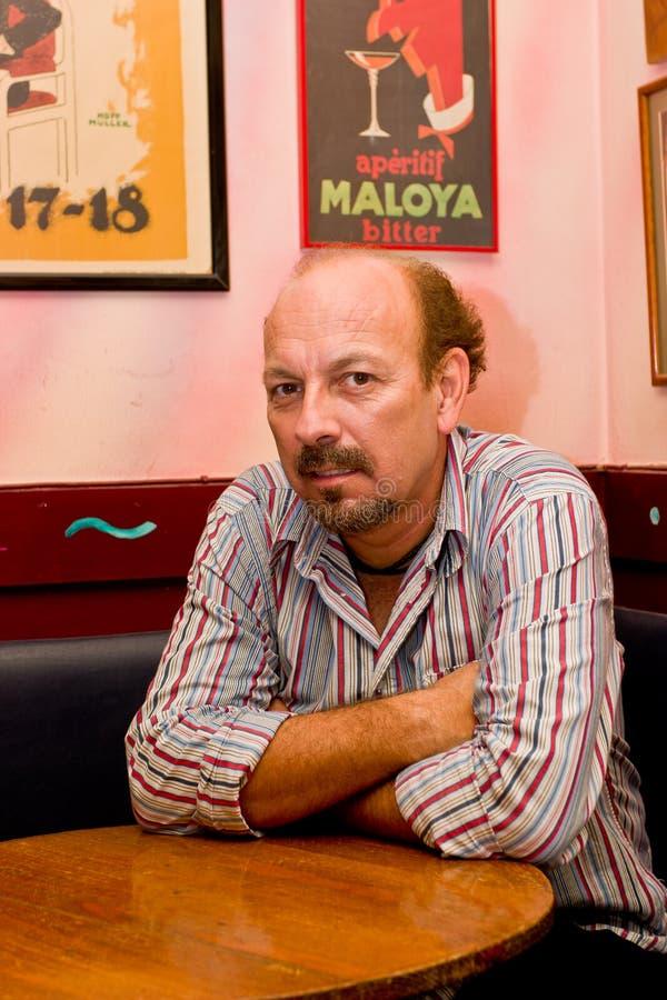 Cantante español Javier Ruibal foto de archivo