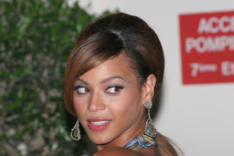 Cantante y actriz Beyonce Knowles foto de archivo libre de regalías
