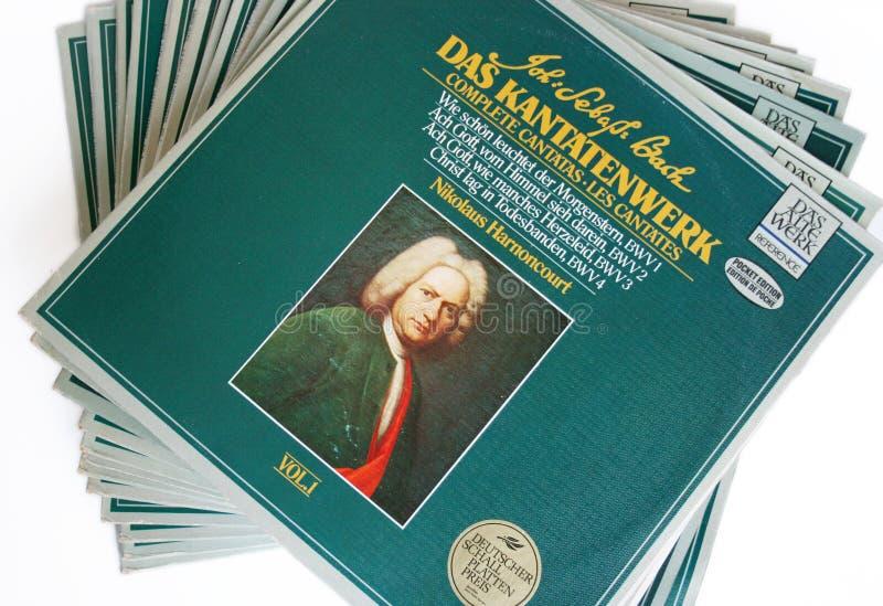 Cantatas de Bach fotografía de archivo