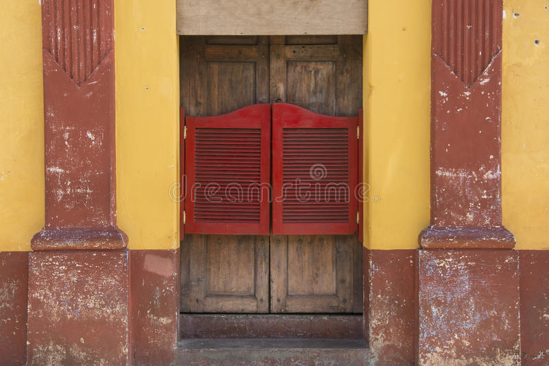 Canteen door royalty free stock photography