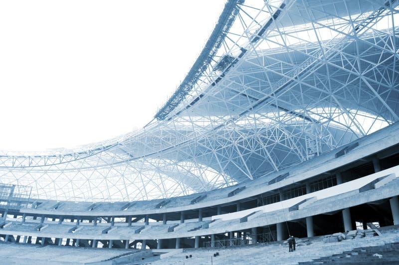 Canteiro de obras do estádio foto de stock royalty free