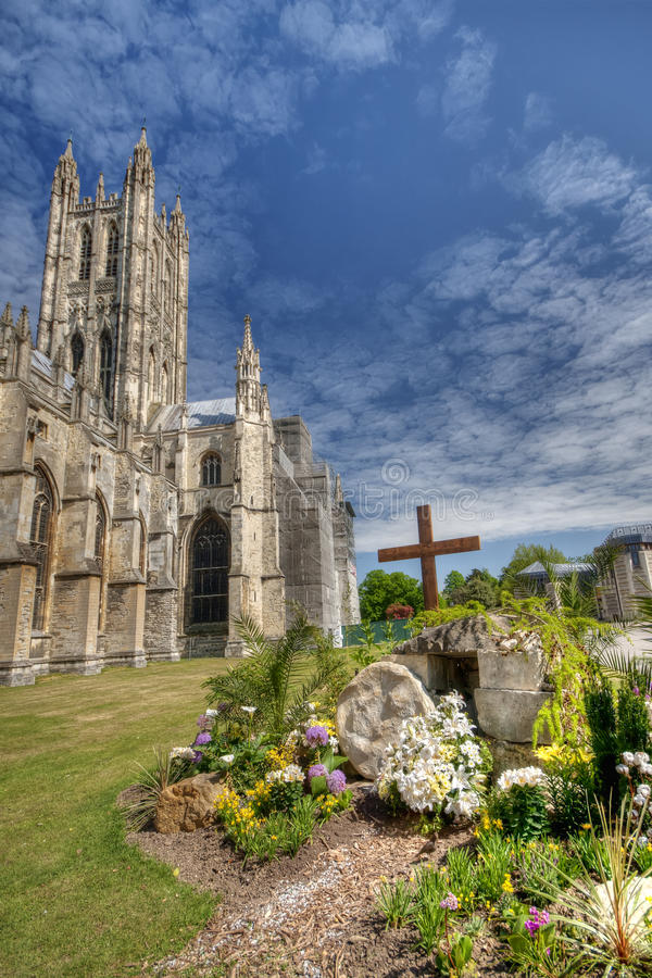 Download Canterbury Cathedral stock photo. Image of english, communion - 19548432