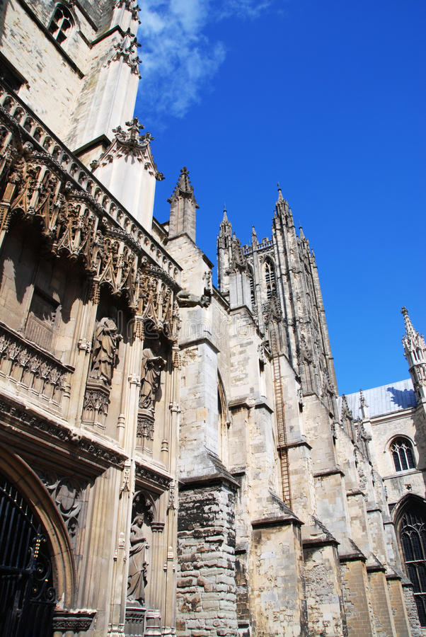 Download Canterbury cathedral stock photo. Image of aged, landscape - 20458980