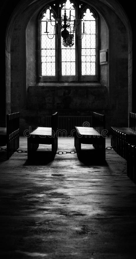 Canterbury Cathedral Crypt stock photography