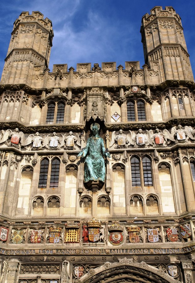 Download Canterbury Cathedral Gateway Stock Photography - Image: 8094442