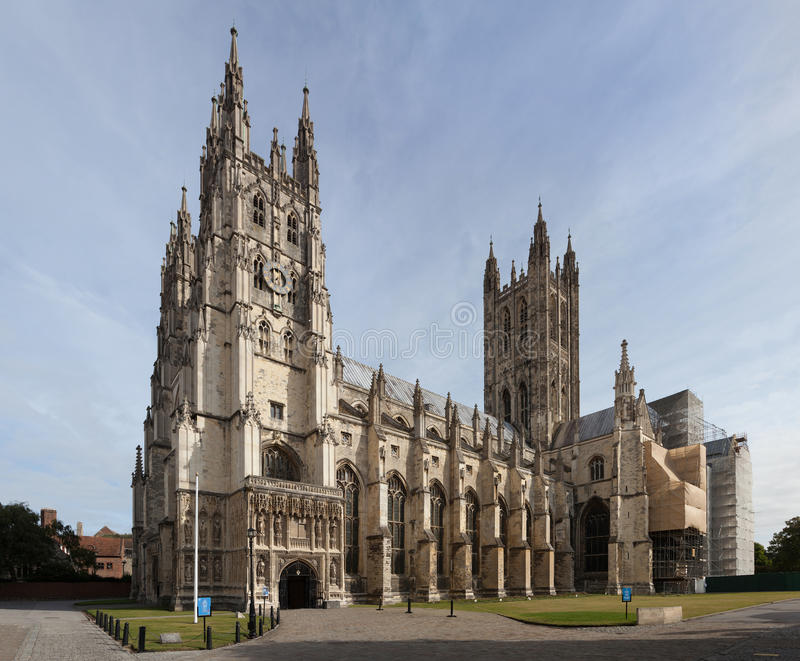 Canterbury Cathedral, Kent, England royalty free stock image