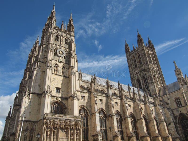 Canterbury domkyrka arkivbild