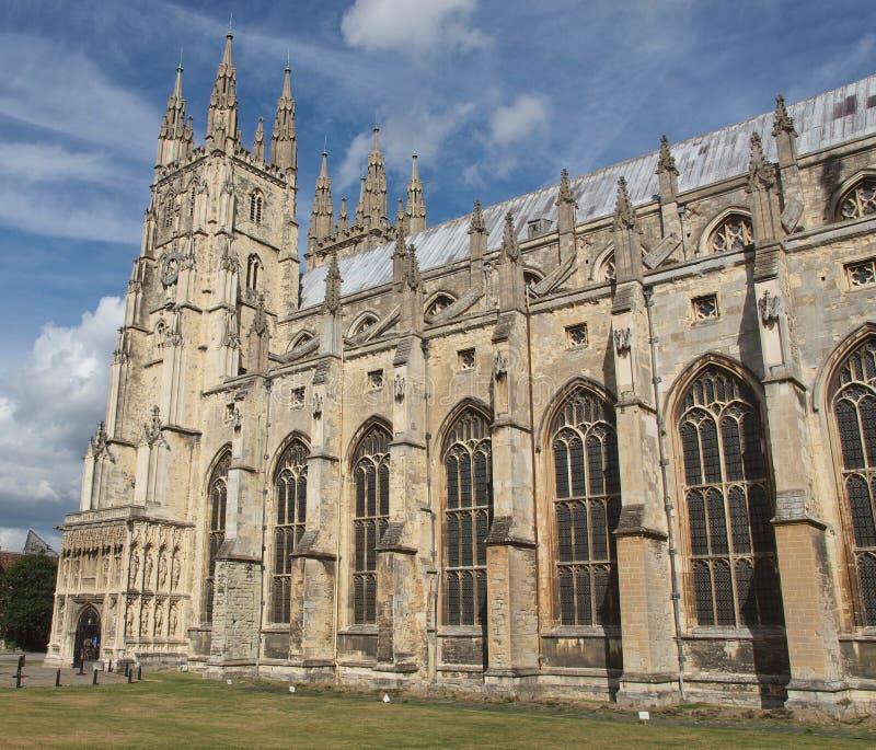 Canterbury domkyrka arkivfoto