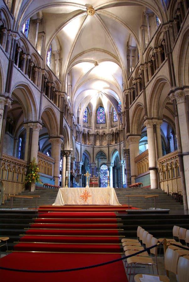 canterbury katedra fotografia royalty free