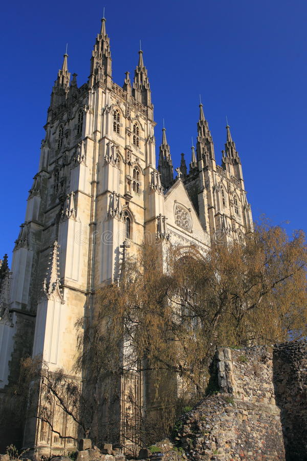 Canterbury katedra obraz royalty free