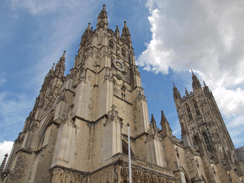 Canterbury katedra zdjęcia royalty free