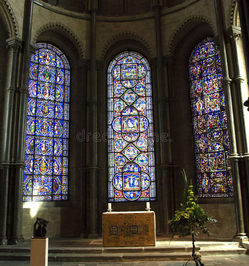 Canterbury katedra fotografia stock