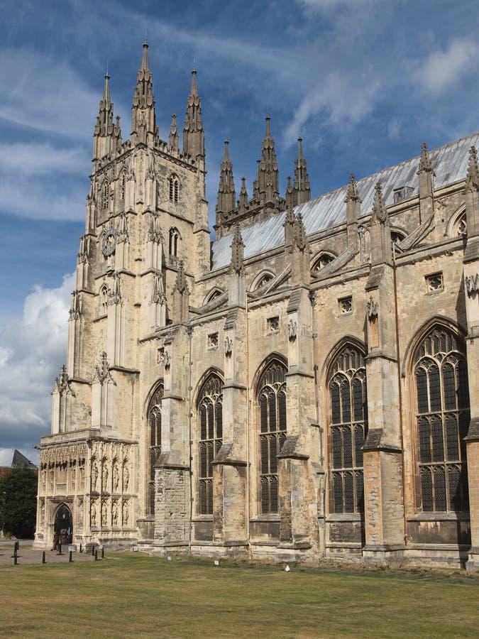 Canterbury katedra obrazy stock